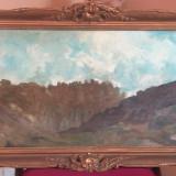 Tablou peisaj baimarean VALER FERENCZY, Peisaje, Ulei, Impresionism