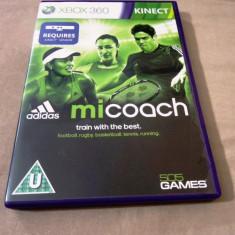 Jocuri Xbox 360, Simulatoare, 3+, Multiplayer - Joc Kinect Adidas Micoach, XBOX360, original, alte sute de jocuri!