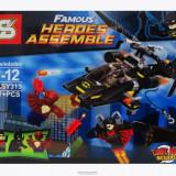 Man-Bat Attack joc tip LEGO DC Super Heroes 207 piese Nightwing Batman SY313 - Jocuri Seturi constructie, 4-6 ani, Baiat