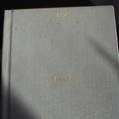 FABULE-ESOP- - Carte Antologie