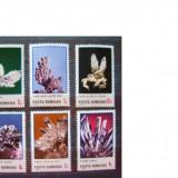 Romania 1985 flori de mina serie   MNH