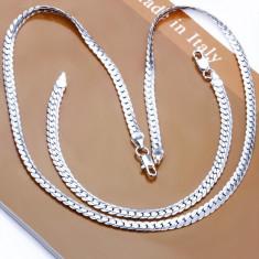 Set bijuterii argint 925 + cutie cadou; 20.5 cm lungime bratara, 50.5 cm colier