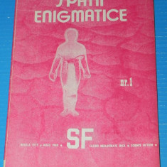 Revista SF SPATII ENIGMATICE nr 1 1990 cenaclul quasar iasi (r5029 - Carte SF