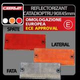 Reflectorizant catadioptru 90x40 mm 1buc - Galben - CRD-CAR0413903