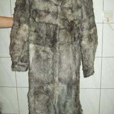 Haina din blana naturala din ied, noua, masura 46, ffFFFFf ELEGANTA si SUPERBA - Palton dama, 46/48, Din imagine