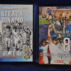 Lot 2 DVD-uri de colectie Steaua Bucuresti. Finala de la Sevilla '86. - Film documentare, Romana