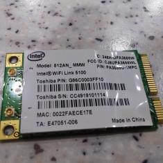 Placa de retea wireless laptop Satellite P300 P300-21Z WiFi Link 5100 300Mb/s Toshiba