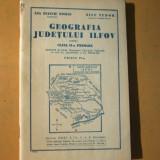 Geografia judetului Ilfov pentru clasa a II a primara Bucuresti 1924 - Carte veche