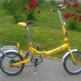 Bicicleta pliabila - Bicicleta pliabile, 12 inch, 16 inch, Numar viteze: 1