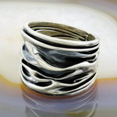 Inel din Argint 925, model Topit, cod 884 - Inel argint