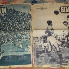 Doua reviste Stadion nr 28 si 46 (21 aprilie si 8 sept 1948, Rapid Bucuresti) - Revista vintage