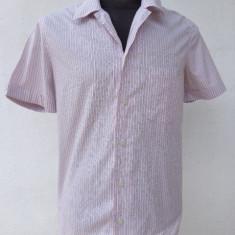 Camasa slim fit Armani Jeans originala - Camasa barbati Armani, Marime: M, Culoare: Din imagine, Maneca scurta