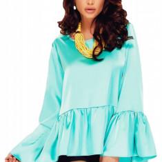 Bluza dama - BL686-122 Bluza cu maneci lungi, largi si volanase