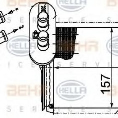 Schimbator caldura, incalzire habitaclu VW SHARAN 1.9 TDI - HELLA 8FH 351 313-451 - Sistem Incalzire Auto