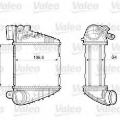 Intercooler, compresor SUBARU LIBERTY III 2.5 - VALEO 817457 - Intercooler turbo
