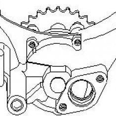 Pompa ulei AUDI A3 1.8 - TOPRAN 109 790