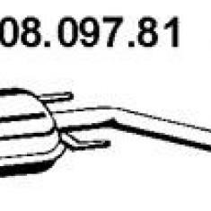 Toba esapamet intermediara OPEL VECTRA B 2.0 DI 16V - EBERSPÄCHER 08.097.81 - Toba finala auto