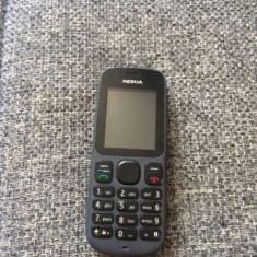 Nokia 100 folosit stare foarte buna, functional orice retea, incarca!PRET:80lei - Telefon Nokia, Negru, Nu se aplica, Neblocat, Single SIM, Fara procesor