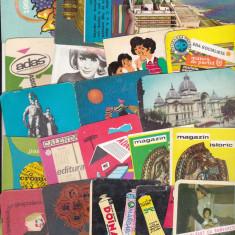 Bnk cld Lot 120 calendare romanesti diferite 1967-2000 - Calendar colectie