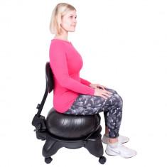 Scaun cu minge aerobic inSPORTline G-Chair - Articole ortopedice