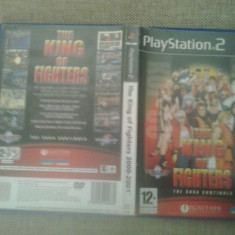 The King of fighters 2000-2001 - PS2 - Jocuri PS2, Actiune, 12+, Multiplayer