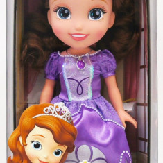Papusa SOFIA The First, Disney Junior - OKAZIE, 6-8 ani, Plastic, Fata