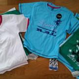 Tricouri baieti 2-3 ani pana la 5-6 ani diverse modele/culori- NOI!, Marime: One size, Culoare: Alb