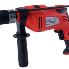 010130-Masina de gaurit cu percutie 13 mm 810W Raider Power Tools RDP-ID28