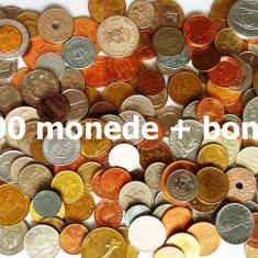 LICITATIE 200 MONEDE DIVERSE STRAINE + ROMANESTI + 1 LEU 1906 ARGINT!!! - Moneda Romania