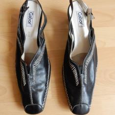 Pantofi Gabor piele naturala; marime 42, 28 cm talpic interior;impecabili, ca noi - Pantofi dama