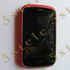 Telefon HTC Desire C (Touchscreen spart) Rosu Swap, Alb, Nu se aplica, Neblocat, Single SIM, Dual core