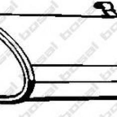 Toba esapamet intermediara FIAT TIPO 1.7 D - BOSAL 148-207 - Toba finala auto