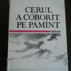 CERUL A COBORIT PE PAMANT - Elena Gronov-Marinescu - editura Militara, 1988 - Roman