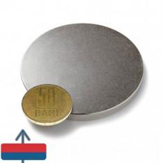Magnet puternic neodim 60x5 mm neodymium ndfeb