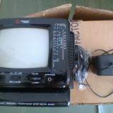 Televizor domotec portabil . - Televizor CRT