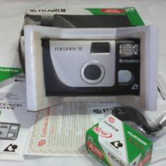 APARAT FOTO FUJIFILM FOTONEX 10 NEFOLOSIT +FILM IN AMBALAJ ORIGINAL RARITATE!!! - Aparat Foto cu Film Fujifilm