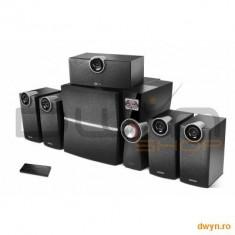 Edifier Boxe 5.1, RMS: 4x8W + 1x10W + 1x38W, USB port, SD card slot, MP3 Player, FM radio, Optical Digital I - Boxe Logitech