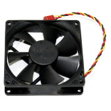 Ventilator Foxconn 92mm, 12v, 0.18A, conexiune 3 pini, PV902512L ***GARANTIE*** - Cooler PC, Pentru carcase