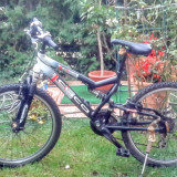 Bicicleta Moutain bike High line cyco copii - Mountain Bike, 24 inch, Numar viteze: 24