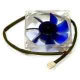 Ventilator Coolink 80mm 12v, 0.07A, Rotatii 1500 rpm, 3 pini ***GARANTIE*** - Cooler PC, Pentru carcase