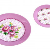 Set tort 7 piese Roses