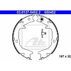 Set saboti frana, frana de mana MITSUBISHI GALANT Mk V limuzina E5 A E7 A E8 A PRODUCATOR ATE 03.0137-0452.2 - Saboti frana auto