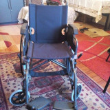 Scaun pliabil cu rotile/ Fotoliu rulant - Scaun cu rotile