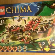 Lego Chima Original 70006 - Nava de comanda a lui Cragger - LEGO Legends of Chima
