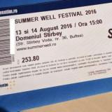Abonament Summer Well - Bilet concert