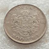 200 LEI 1942-ARGINT-REGELE MIHAI - Moneda Romania