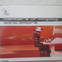 Members Of Mayday – Sonic Empire _ maci cd, Germania - Muzica House Altele