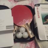 CRANE Set husa(1) + palete tenis (2) + mingi (3)