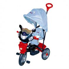 Tricicleta DhsBaby Jolly Ride albastru - Tricicleta copii DHS Baby, Baiat, Bleumarin