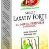 Sirop Laxativ Forte cu miere, propolis si vitamina C FARES
